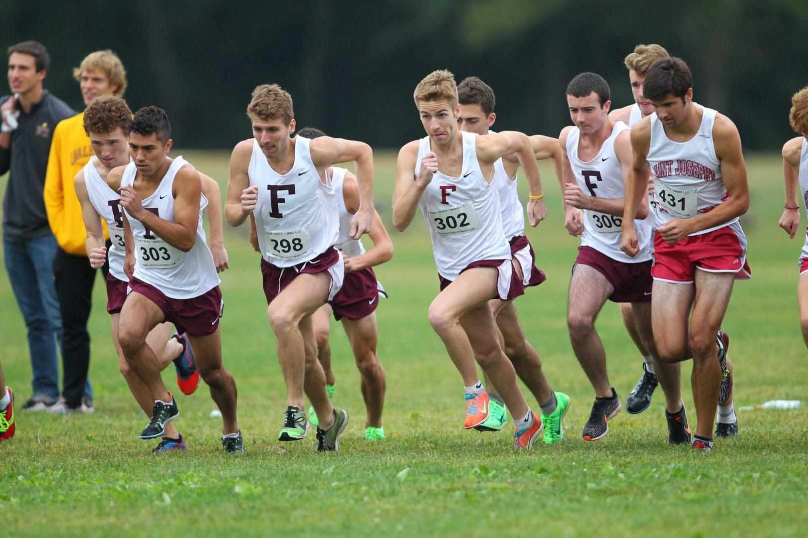 Men's Cross Country Places Third in Metropolitan Championship