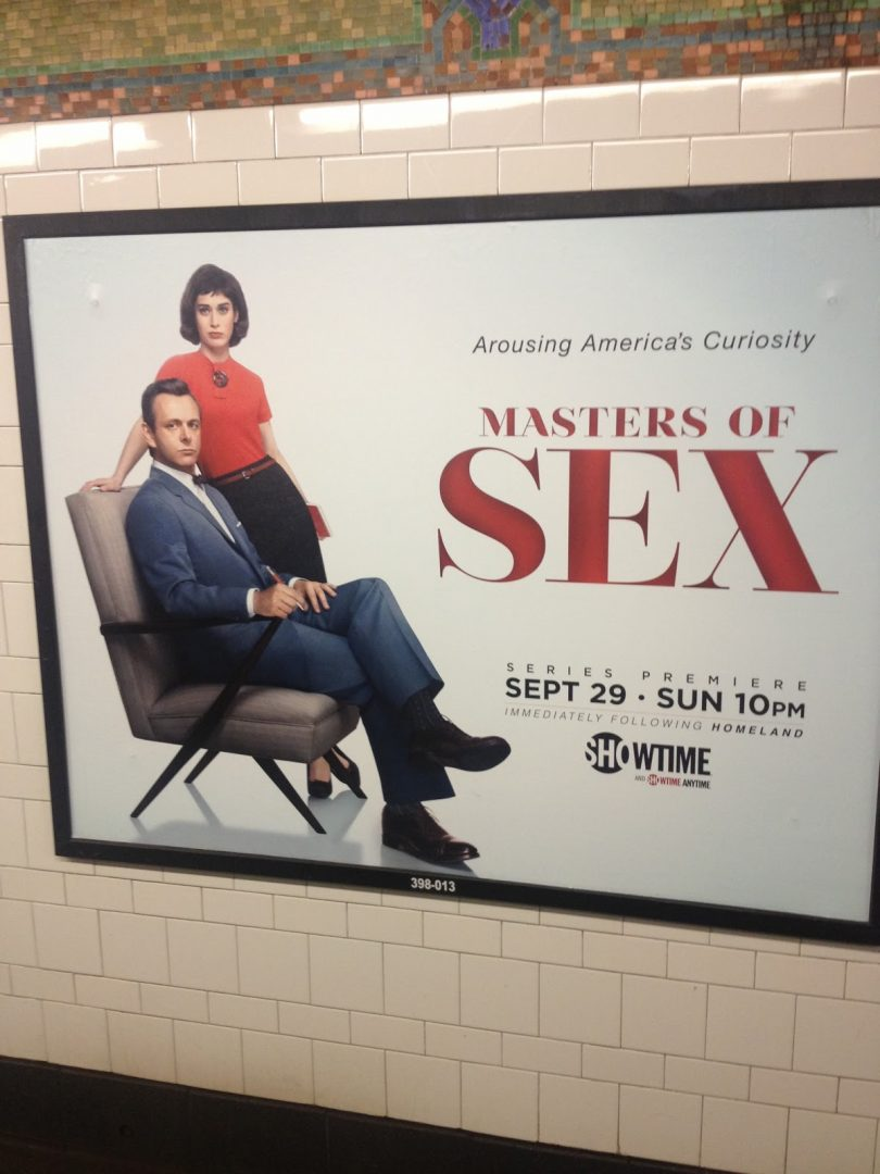 A subway ad for