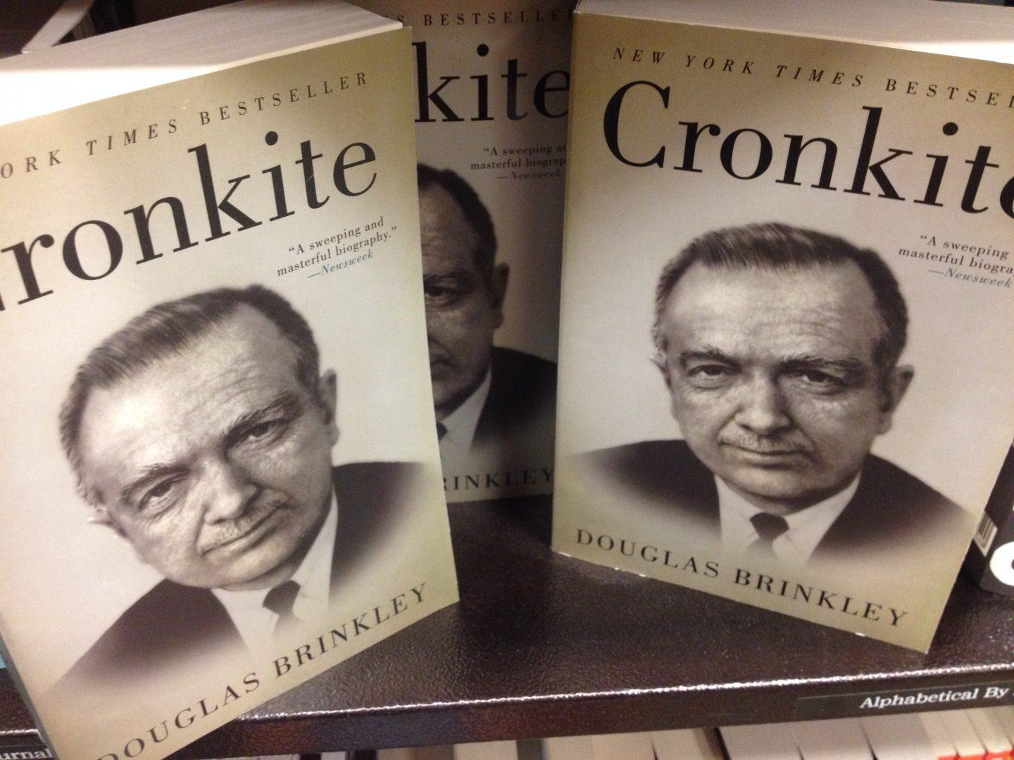 "Douglas Brinkley Wins the Sperber Award for ""Cronkite"""