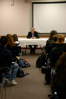 Eric Foner at the Anne Mannion Memorial Dialogue (Sarah Howard/The Observer)