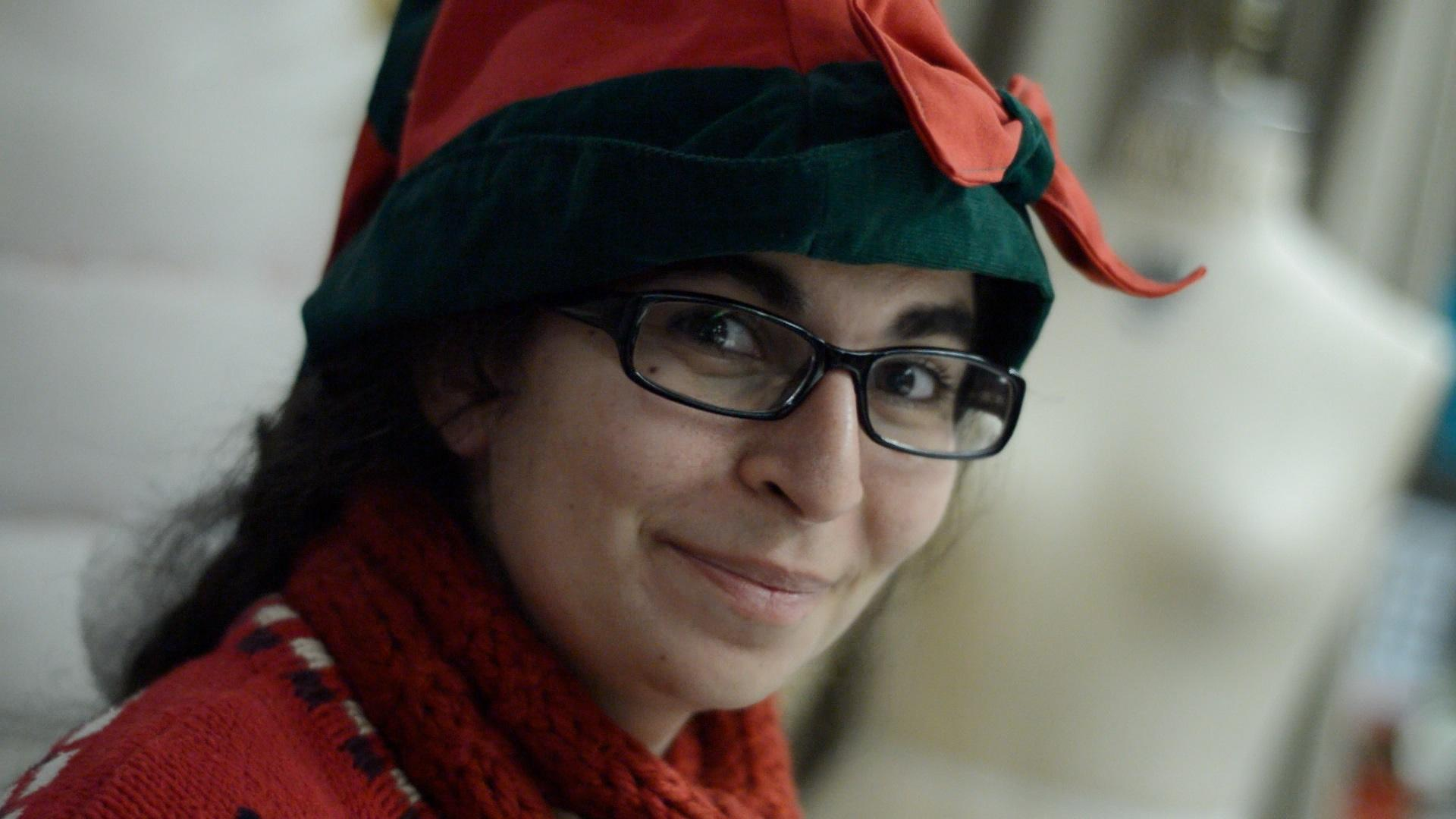 Anna Abowd, FCLC's Resident Elf, Spreads Christmas Cheer