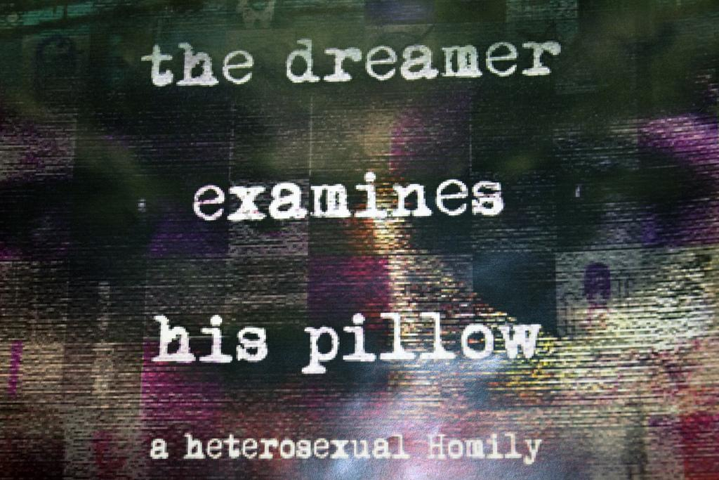 """The Dreamer Examines His Pillow,"" Fordham's Last Studio Show of the Season"