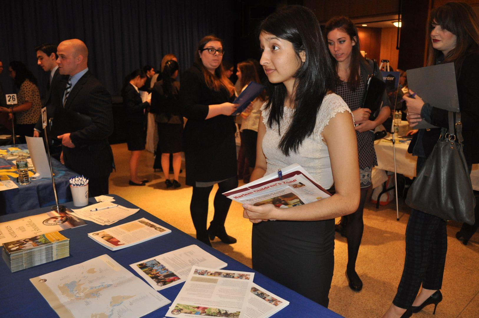 Employers and Students Weigh In On Career Fair