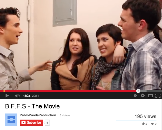 "Fordham Talent, From Stage to Screen in ""B.F.F.s"""