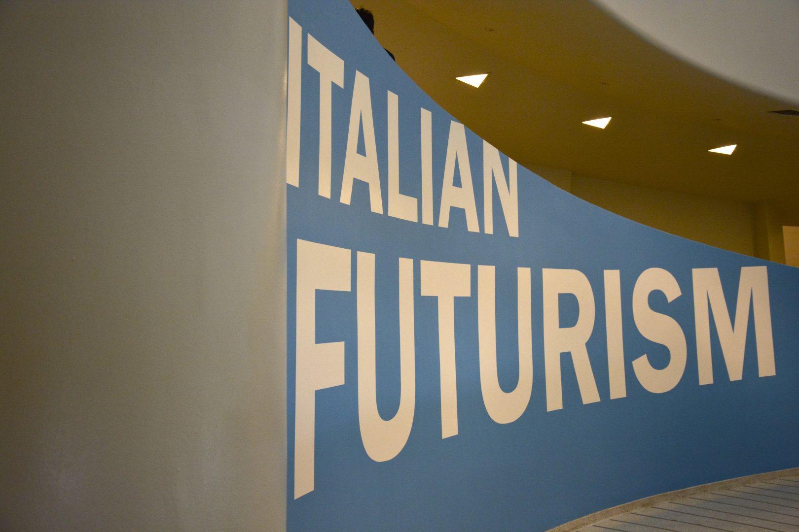 """Italian Futurism,"" the new exhibit at the Guggenheim Museum (Ludovica Martella/The Observer)"