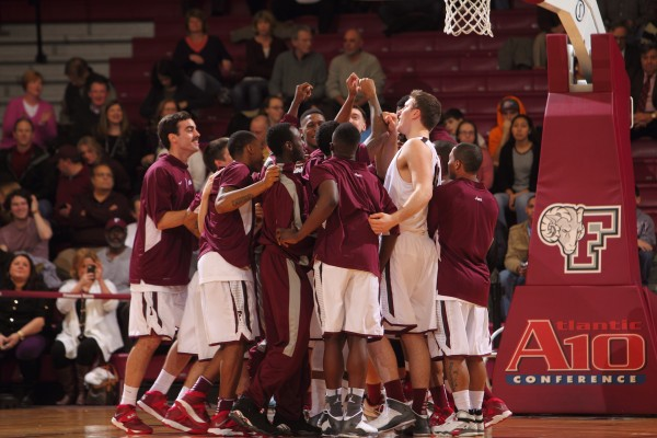 Fordham and the Atlantic 10 are looking to become more prominent in the world of college basketball. (Courtesy of Fordham Sports Info)