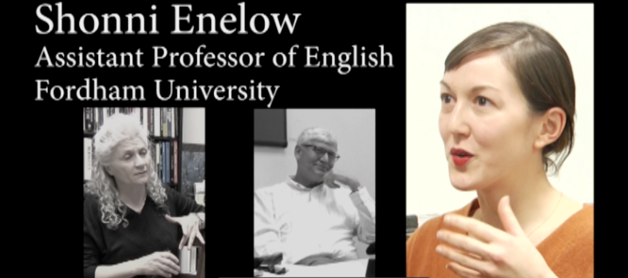 VIDEO: Women's History Month featuring Professor Shonni Enelow