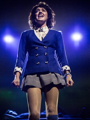 "Barrett Wilbert Weed stars as Veronica in the musical ""Heathers."" (Courtesy Chad Bakta)"