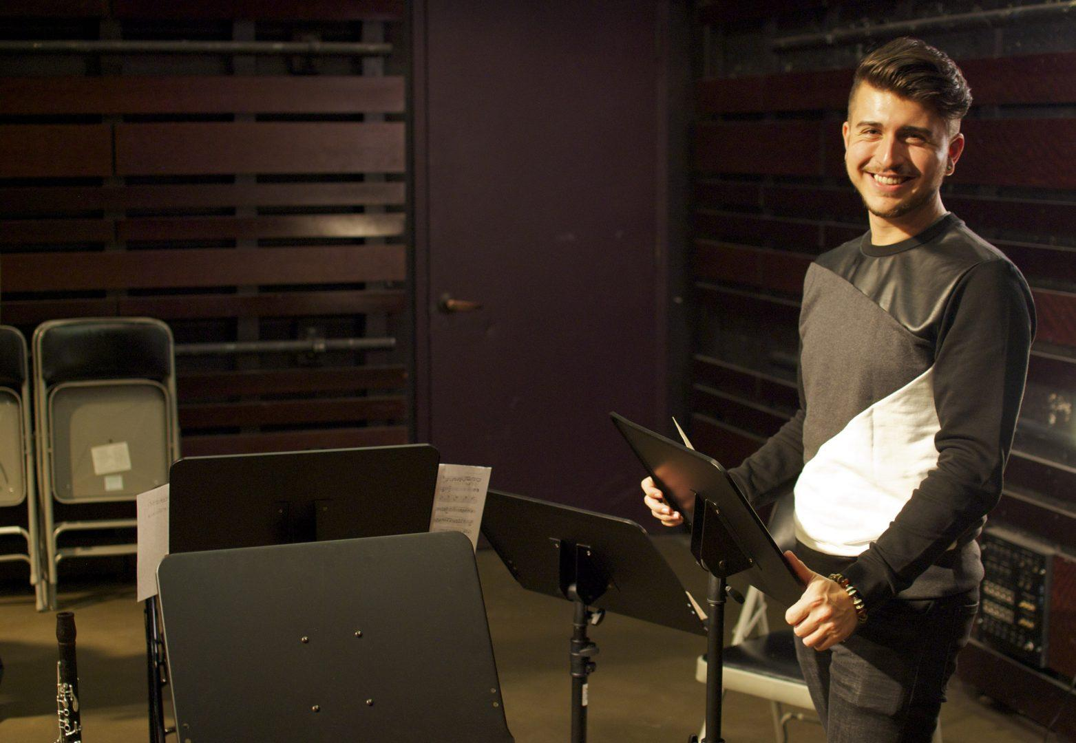 Student Composer Makes Fordham History