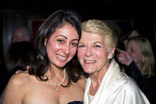 From left to right: Donna Zaccaro and Geraldine Ferraro, FLC '60. (Courtesy Donna Zaccaro)