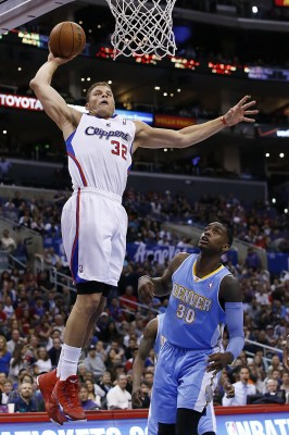 Blake Griffin's elevation to one of the best players in the league over the regular season has led to Clipper's playoff success.  (Robert Gauthier/Los Angeles Times via MCT)