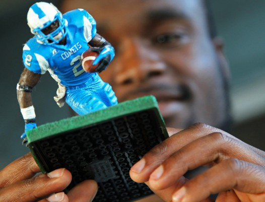Players aren't notified or paid when used as action figures, video games characters or within commercials.  (Carl Juste/Miami Herald via MCT)