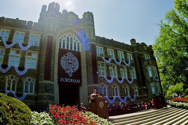 Fordham Celebrates the Class of 2014