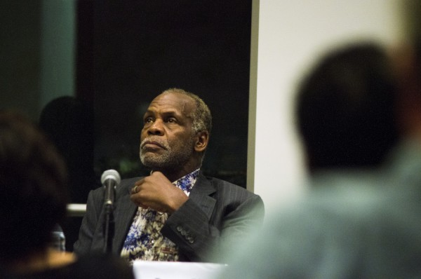Danny Glover during the panel following a screening of