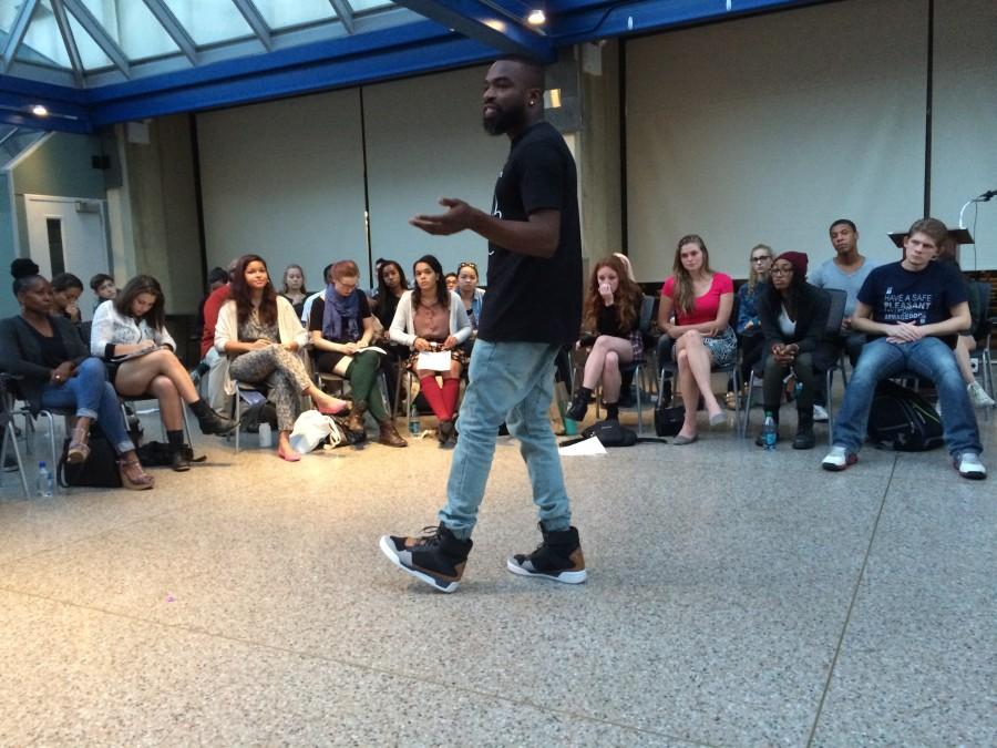 Darnell L. Moore Leads Conversation About Policing in America