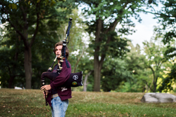 The Bagpiper of Central Park