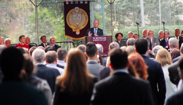 New Law School Dedicated by Sotomayor, Bloomberg