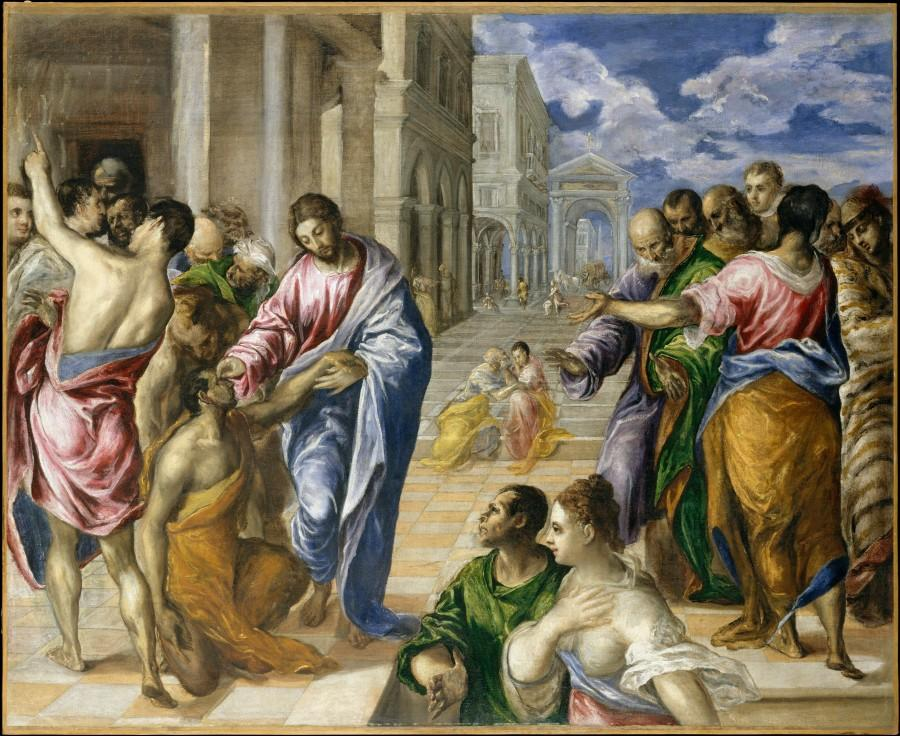 'The Miracle of Christ Healing the Blind' is currently featured at The Metropolitan Museum of Art. (Photo courtesy of the Metropolitan Museum of Art)