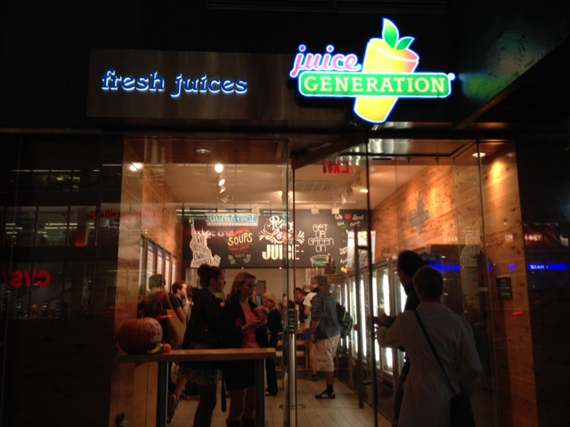 The opening of Juice Generation brings the juice craze even closer to campus. (Rosanna Corrado/The Observer)