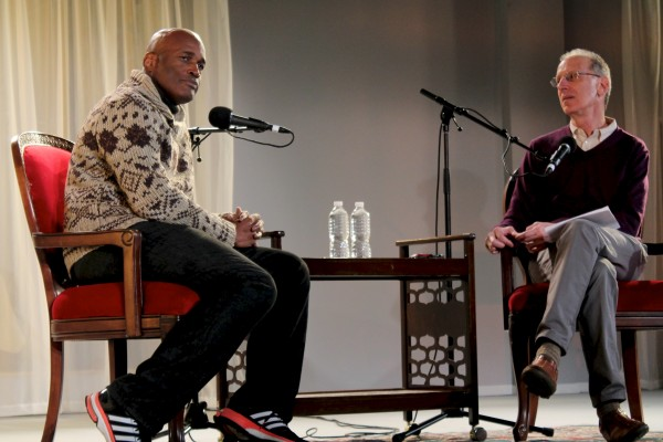 "Denzel Washington Chair in Fordham's Theatre Program, Kenny Leon, was the featured guest of Randy Cohen's ""Person, Place, Thing."" (Kirstin Bunkley /The Observer)"