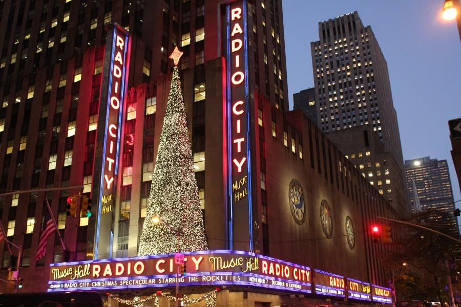 """Radio City Music Hall is known for putting on the notable """"Radio City Christmas Spectacular"""" every year. (Isabel Frias /The Observer)"""