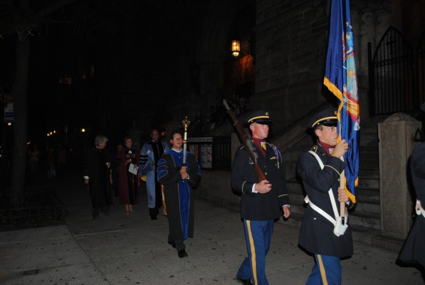 ROTC at Fordham consists of about 130 cadets, but they are not all Fordham students.(Charlie Puente/Observer Archives)