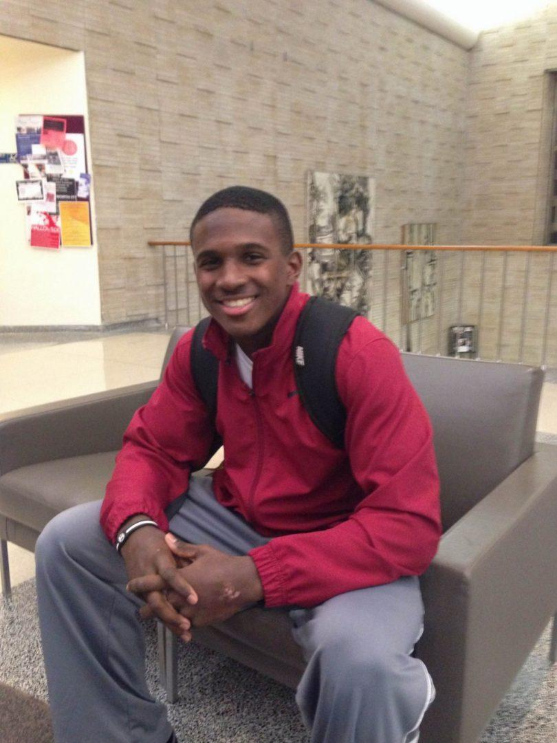 Chase Edmonds, FCRH '18, is ready to help Fordham's football team win the Patriot League Championship.