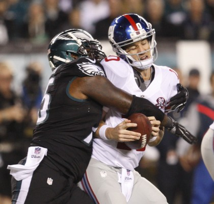 Eli+Manning+may+not+be+an+elite+quarterback+anymore%2C+but+replacing+him+will+not+fix+the+Giants.+%28Photo+Courtesy+of+Ron+Cortes+%2FPhiladelphia+Inquirer+via+TNS%29