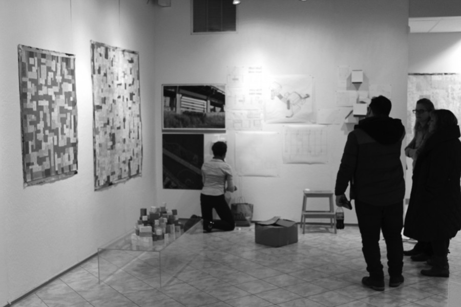 Seniors Exhibit Work in Fordham Galleries (Lipani Gallery)