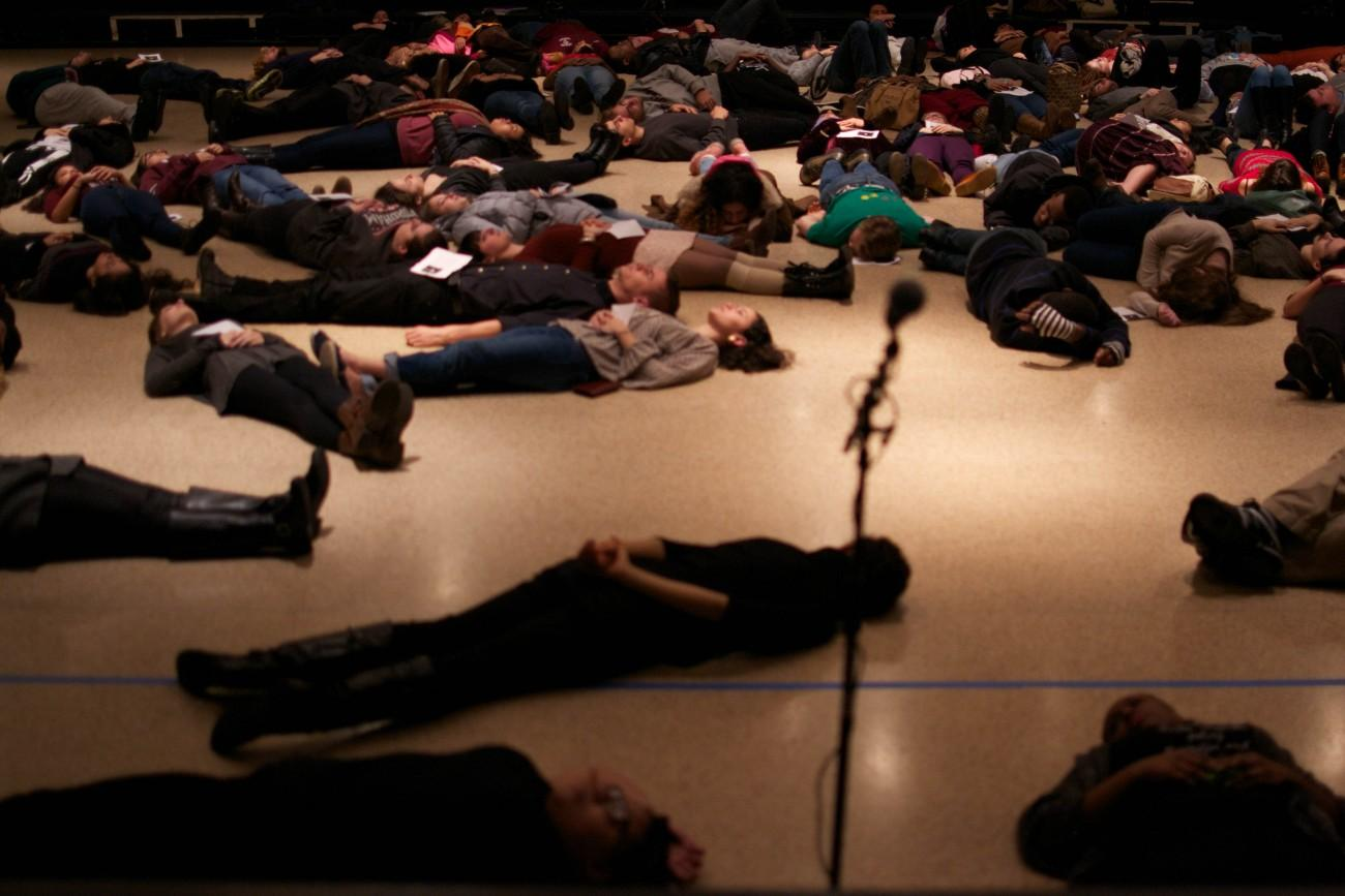 BSA Hosts 'Die-In' to Protest Police Brutality