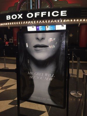 """Fifty Shades of Grey"" is released this Valentine's Day. (Michelle Quinn/The Observer)"
