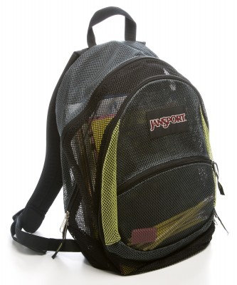 A classic JanSport backpack that is often sold in school bookstores. (Courtesy of Ross Hailey/ Fort Worth Star- telegram via TNS)