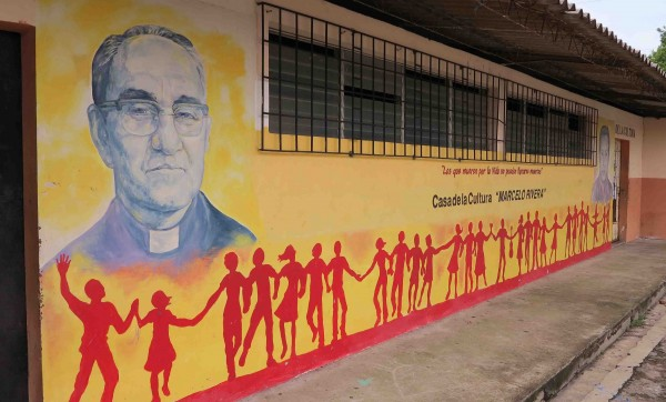 "On Feb. 3, the Vatican labeled Romero's death officially as ""in odium fidei"" (in hatred of faith) 35 years after he was murdered. (Courtesy of Tim Johnson via TNS)"