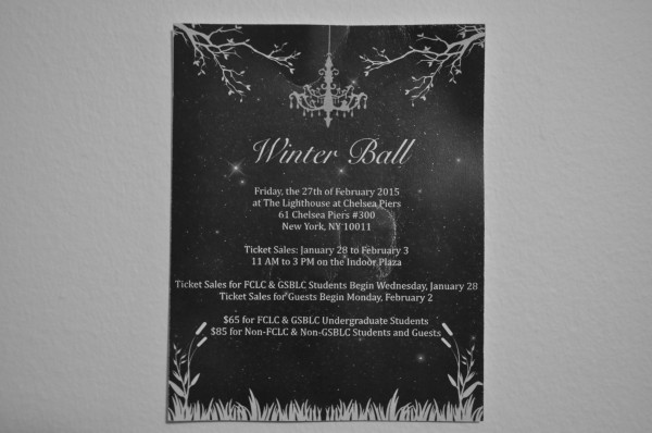 Despite the controversial theme, Winter Ball ticket sales remained consistent with past year sales.  (Jessica Hanley/The Observer)