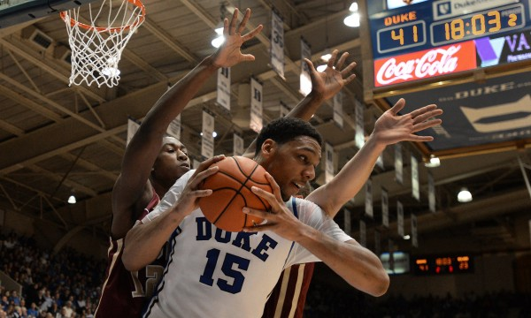 Jahlil Okafor is the consensus top player in this year's draft, but is he right for the Knicks? (Photo courtesty of ChuckLiddy/RalieghNews via TNS)
