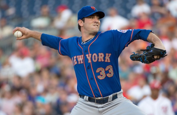 Matt Harvey's return from injury will be the most important factor in the Mets' success this year.  (Photo Courtesty of Harry E Walker via TNS)