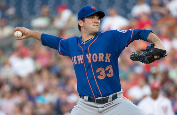 Matt Harvey's return from injury will be the most important factor in the Mets' success this year. <br /> (Photo Courtesty of Harry E Walker via TNS)