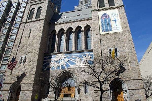 St. Paul's Church was evacuated on November 3rd because of a bomb threat in the area. (Paula Madero/ OBSERVER ARCHIVES)