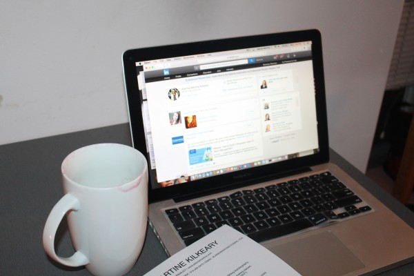 LinkedIn is a great source to connect with colleagues in your field!  (Alanna Kilkeary/The Observer)