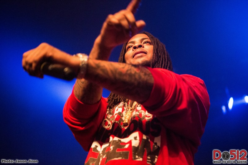 Rapper Waka Flocka Flame.