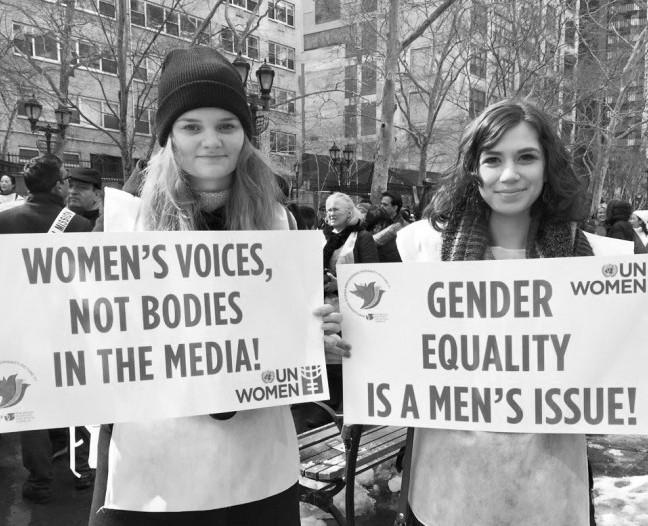 United Nations Holds March For Gender Equality in NYC