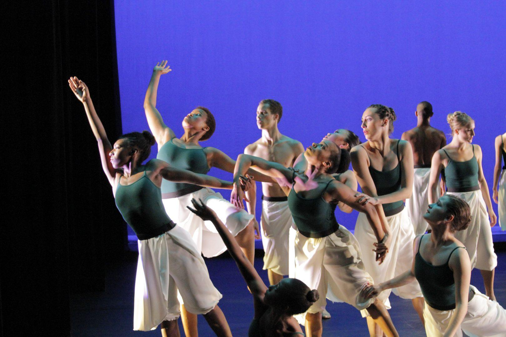 Ailey students perform dances of Kanji Segawa, Stefanie Batten Bland, Jacinta Vlach and Norbert De La Cruz III for the Ailey/Fordham B.F.A., in Dance Benefit Concert. (PHOTO BY JUSTIN REBOLLO/THE OBSERVER)