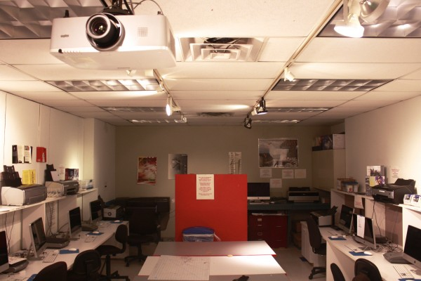 A look inside the Visual Arts Complex, where NMDD classes take place.  (PHOTO BY EMILY TIBERIO/THE OBSERVER)