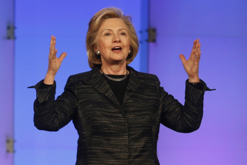 Hillary Clinton is preparing for a historically expensive campaign. (Karl Mondon/Bay Area News Group via TNS)