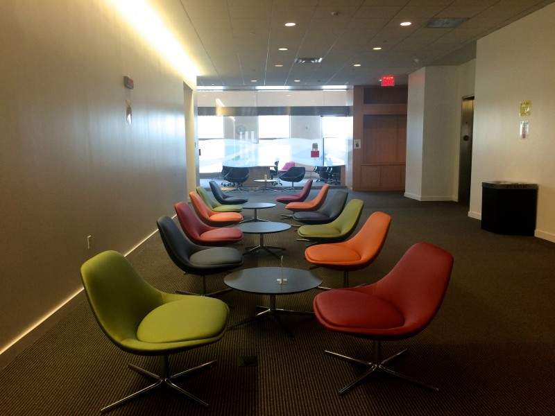 Non-Law students will see this study space again in fall of 2015. (PHOTO BY MARIA KOVOROS/THE OBSERVER)