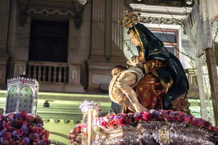 An International Easter: The Procession of Santa María de la Alhambra