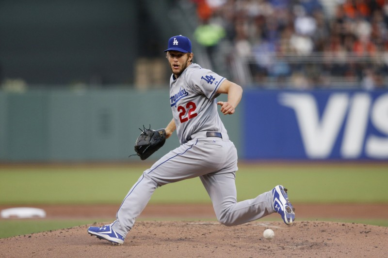 Los Angeles Dodgers' pitcher Clayton Kershaw's impressive pitching will lead the Dodgers to the World Series this season. (PHOTO COURTESY OF JOSIE LEPE/BAY AREA NEWS GROUP VIA TNS)