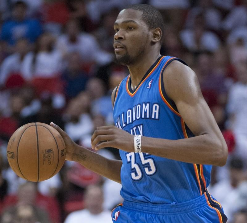 Kevin Durant's career is at stake. COURT. OF GEORGE BRIDGES VIA TNS)