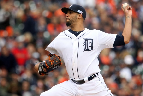 David Price, No. 14 for the Detroit Tigers, is the new ace pitcher since departure of Max Scherzer. (PHOTO COURTESY OF MANDI WRIGHT /DETROIT FREE PRESS VIA TNS)