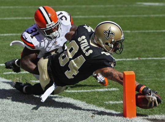 Kenny Stills, New Orleans Saints. (PHOTO COURTESY ED SUBA JR./AKRON BEACON JOURNAL VIA MCT)
